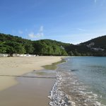 Morne Rouge Beach during the week