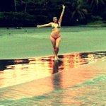 Atardecer en playa cahuita
