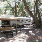 Our campsite # B-3