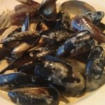 Coconut Green Curry Mussels