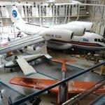 Avião em exposição