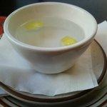 yep, a finger bowl...
