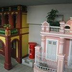 マカオの歴史的建物のレプリカ