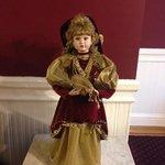 creepy looking doll on 4th floor
