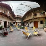 photo sphere.  Apu Huascaran