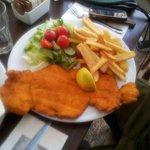 Enormous schnitzel