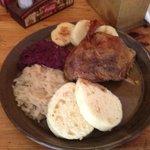 pato com batata e beterraba - maravilhoso!!