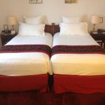 Suite twin beds ... very comfortable!