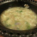 卵スープ。やさしい味