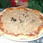 La mega-pizza!