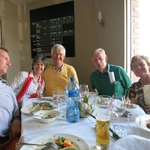 Family and friends at our 60th lunch