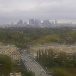 View towards Paris