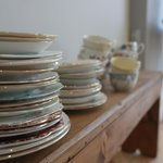 Some of the gorgeous crockery