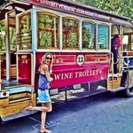Trolley wine tour