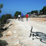 Mountain biking in Cyprus. The Akamas Park.