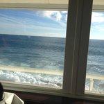 vistas desde el restaurante