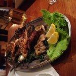 The beautiful fish platter