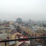 Вид с балкона 13 этажа