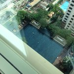 Room view to swimming pool