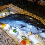 30 kg Gelbflossenthunfisch als Event.