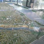 3D model of area