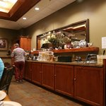 Serving area breakfast room