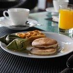Breakfast - local delights