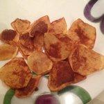"""Le patatine fatte in casa a modo di """"piotta"""""""