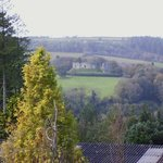 View across to Restormal castle