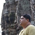 Myself at the Bayon Temple...