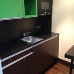 Kitchen in room #707