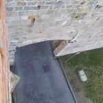 Porta San Zeno a Pisa, vista dopo 400 anni dall'alto