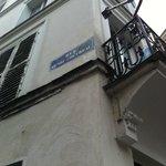 walk along the Rue Henri Chevreau till the 1st junction