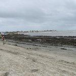 plage du Laico pendant notre séjour