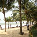 Гостиничный пляж