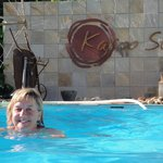 refreshing first swim of the season
