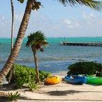 La Perla kayaks & pier