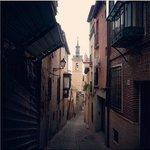Узкие улицы старого Толедо