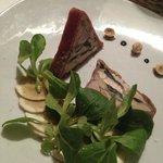 Lapin de garenne et foie gras