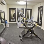 Fitness Center with TRX, Precor Fitness, Free Weights, and Yoga Mats