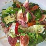 Parma Ham and Fig Salad at Picnic