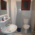 Petite salle de bain pas très pratique