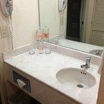 El baño requiere una pronta remodelación