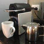 The coffee machine!!!