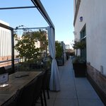 Side area of Roof Top dining