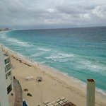 Beach from hotel