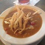 Chicken Chipotle Soup special today is Delicioso!