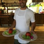 Stuffed peppers with a smile