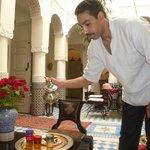 Thé à la menthe par Salah