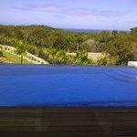 Superbe vue de la terrasse